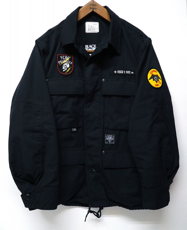"FLAG STORE ""CUSTOM MADE BDU BLACK JKT"""