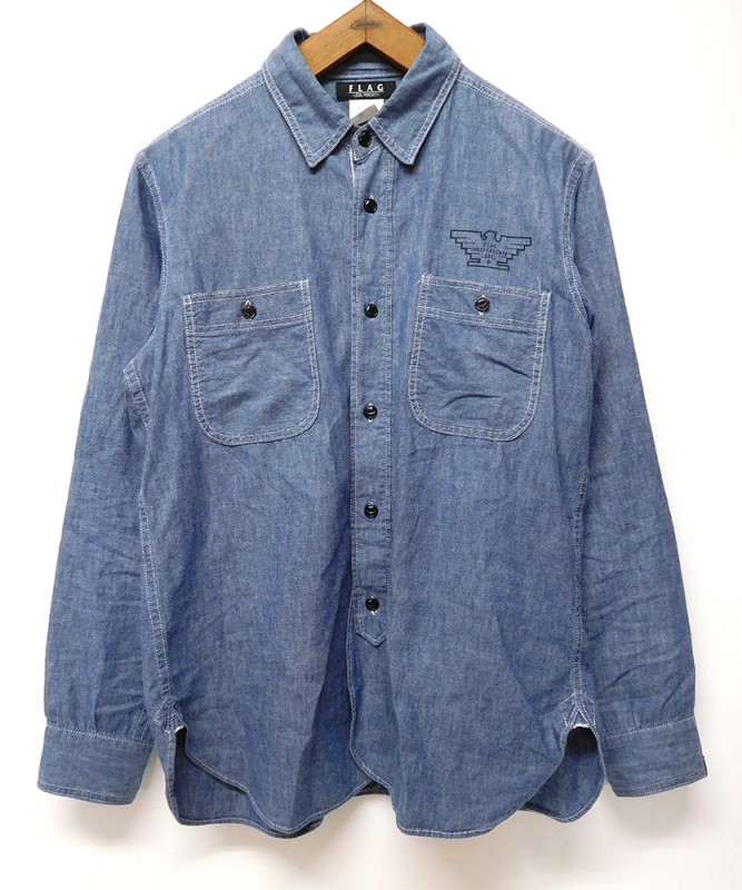 "FLAG STORE ""CLASSIC CHAMBRAY SHIRTS"""