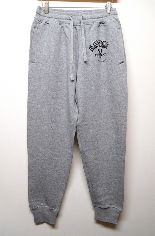 "FLAG STORE ""9.3oz TAPERED SWEAT PANTS"""