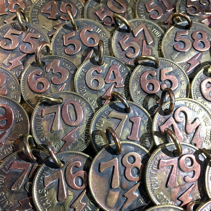 "CYCLE TRASH ""NUMBERING #47~#85 CHARM"""