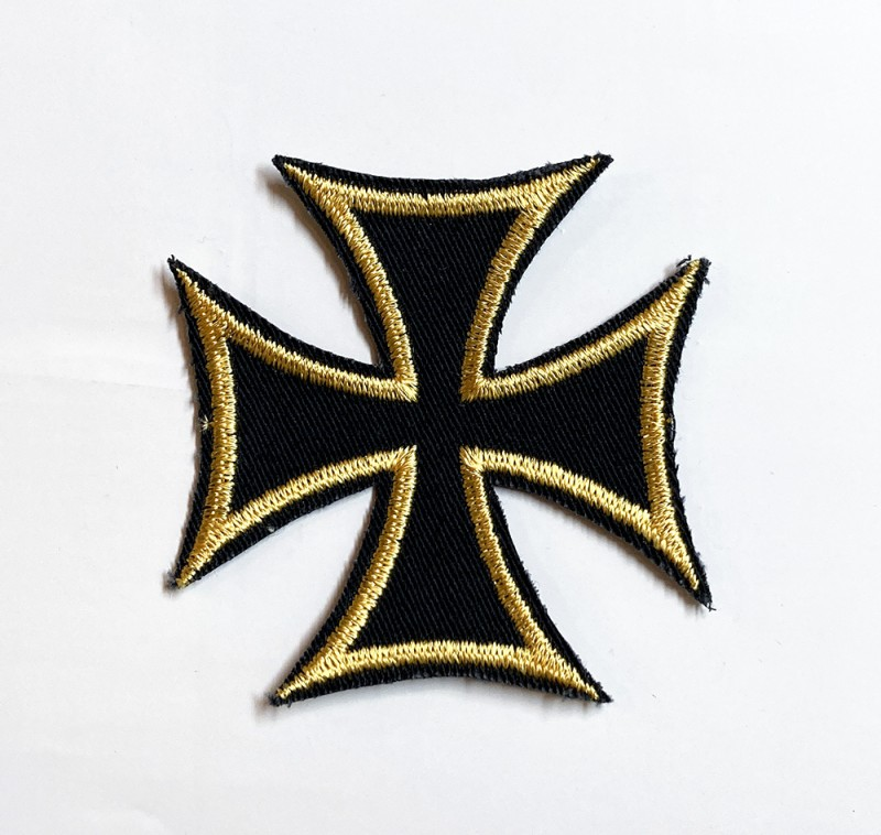"USED&VINTAGE ITEM ""IRON CROSS PATCH"""