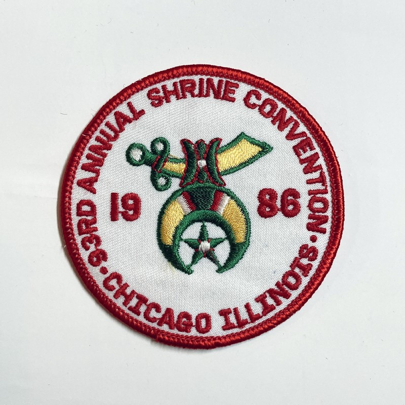 "USED&VINTAGE ITEM ""SHRINERS PATCH"""