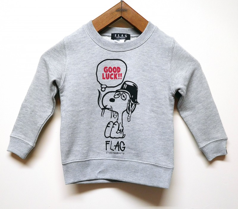 "FLAG STORE ""SMOKING DOG"" KID'S SWEAT"