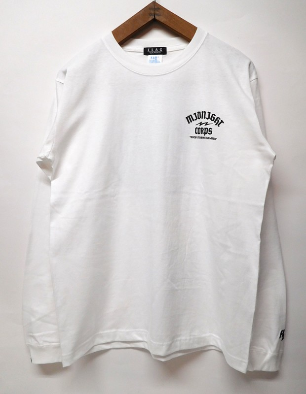 "FLAG STORE ""M.N.C GOD OF DEATH"" L/S TEE"