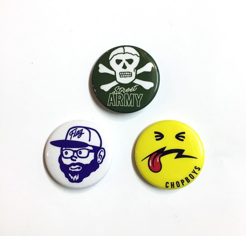 "FLAG STORE ""PIN BUTTON (M)"""