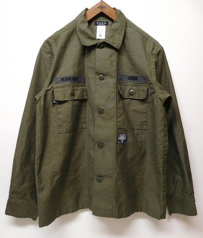 "FLAG STORE ""STREET ARMY BOX SHIRT"""