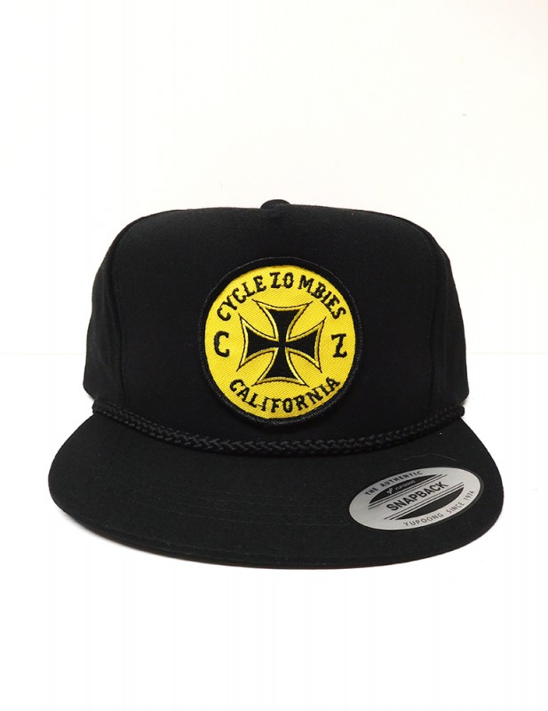 "CYCLE ZOMBIES ""CLOCK WORK"" TRUCKER CAP"