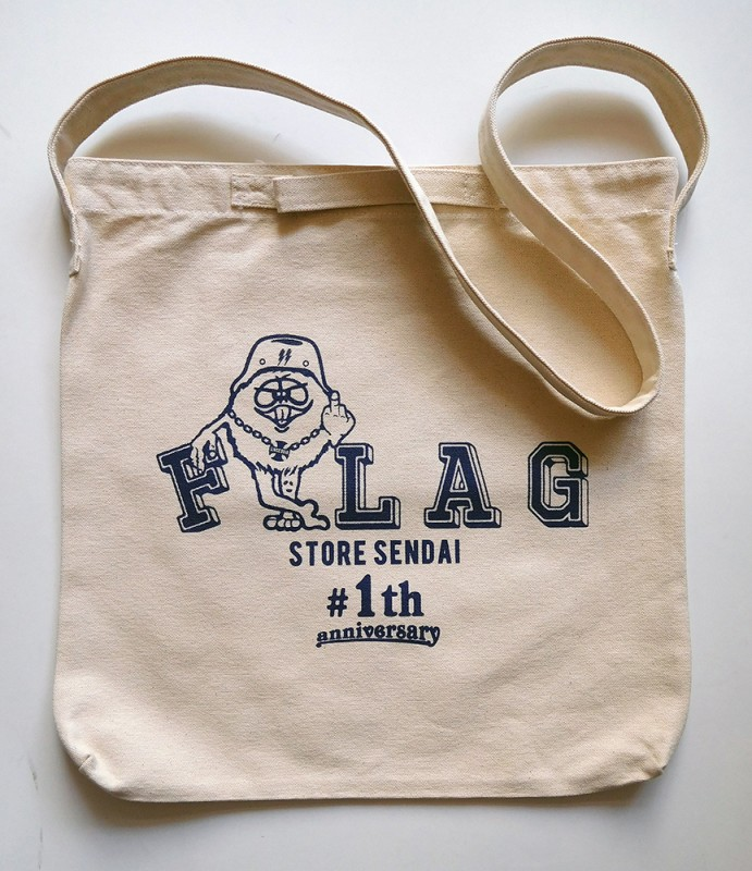 "FLAG STORE ""ANNIVERSARY CANVAS 2WAY BAG"""