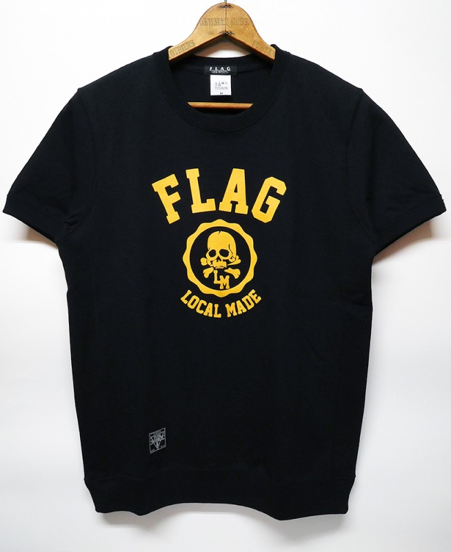 "FLAG STORE ""COLLEGE"" HEAVY WEIGHT S/S TEE"