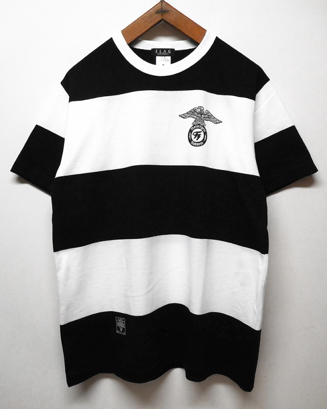 "FLAG STORE ""WIDE STRIPE EAGLE"" S/S TEE"