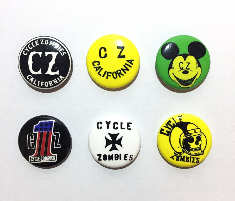 "CYCLE ZOMBIES ""CZ PIN PACK"""