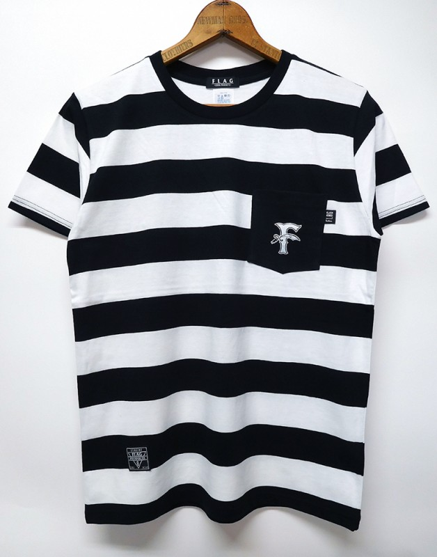"FLAG STORE ""POCKET BORDER"" S/S TEE"