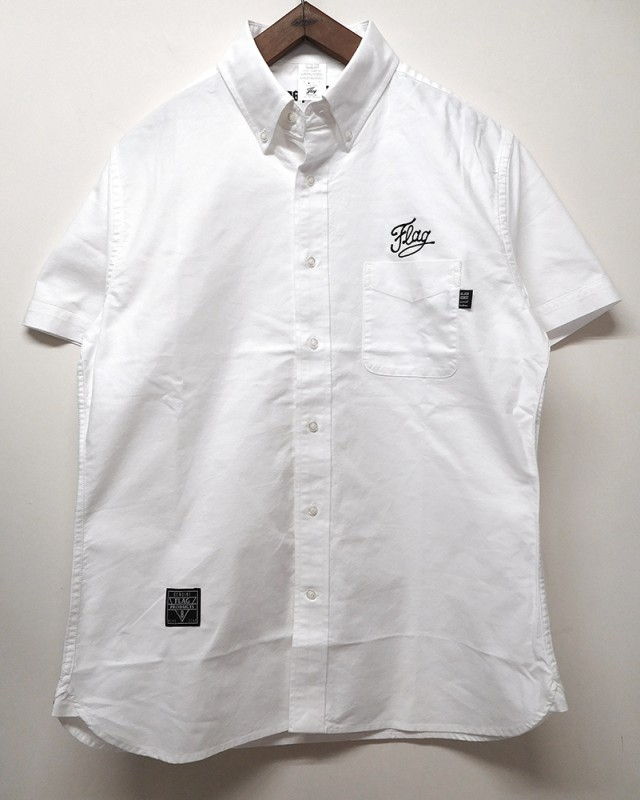 "FLAG STORE ""CHAIN LOGO"" S/S OX FORD SHIRTS"
