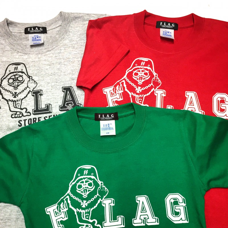 "FLAG STORE ""#1Th ANNIVERSARY"" S/S KID'S TEE"