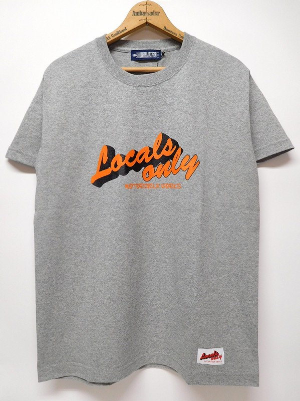 "LOCALS ONLY ""LOGO S/S TEE"""