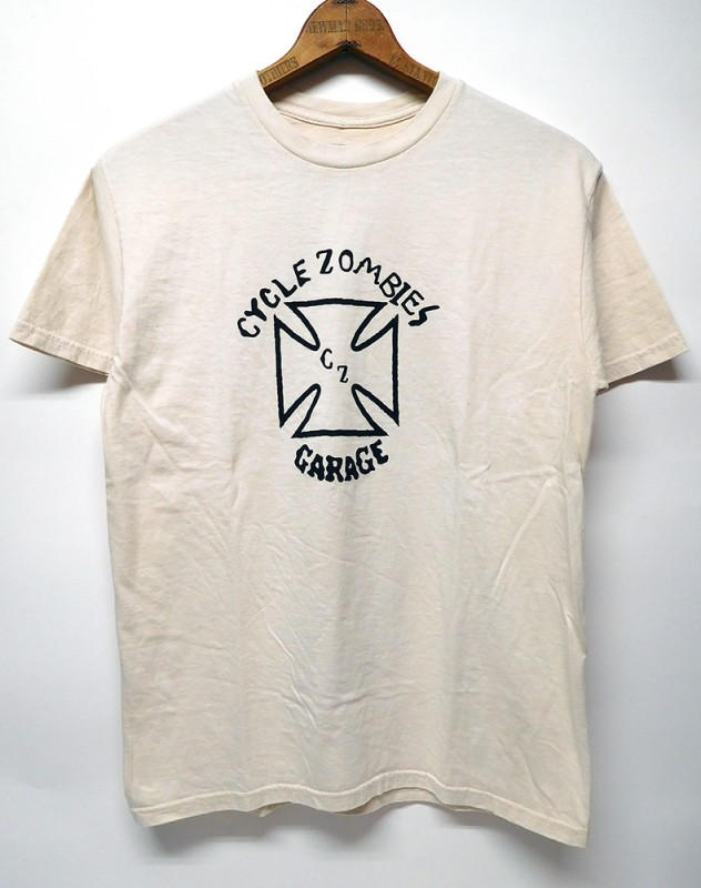 "CYCLE ZOMBIES ""POWER SLIDE"" S/S TEE"