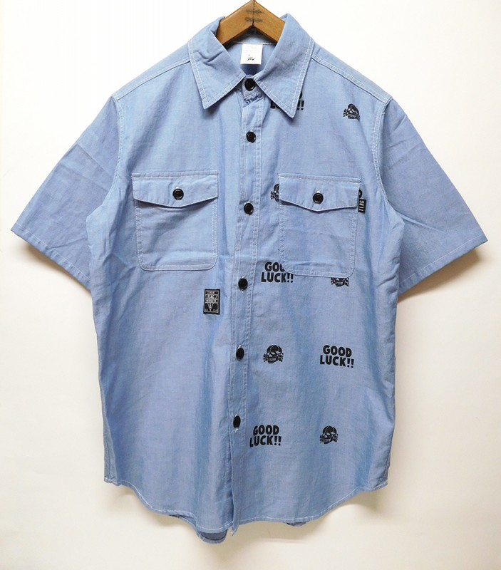 "FLAG STORE ""GOOD LUCK CHAMBRAY SHIRTS 2018"""