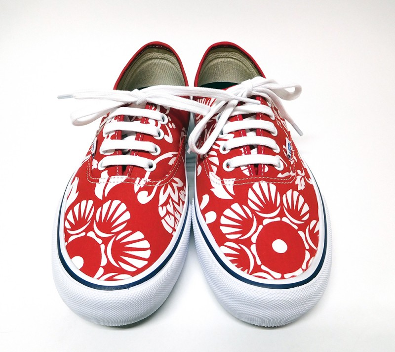 "VANS ""50TH AUTHENTIC  PRO - RED X WHITE"""