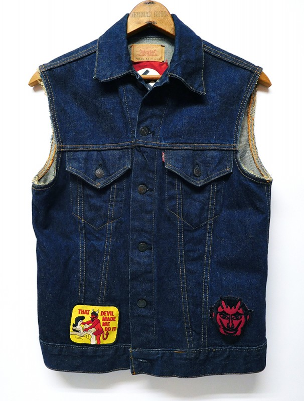 "USED WEAR ""LEVI'S 70505 CHOP VEST"""
