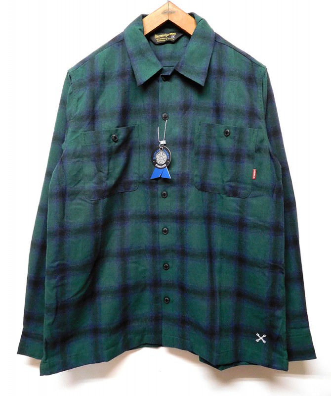 "BLUCO ""OMBRE CHECK SHIRTS"""