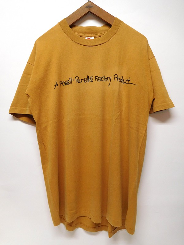 "USED WEAR ""POWELL PERALTA FACTORY"" USED S/S TEE"