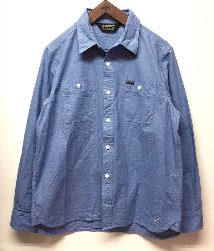 "BLUCO ""BLUE CHAMBRAY SHIRTS"""