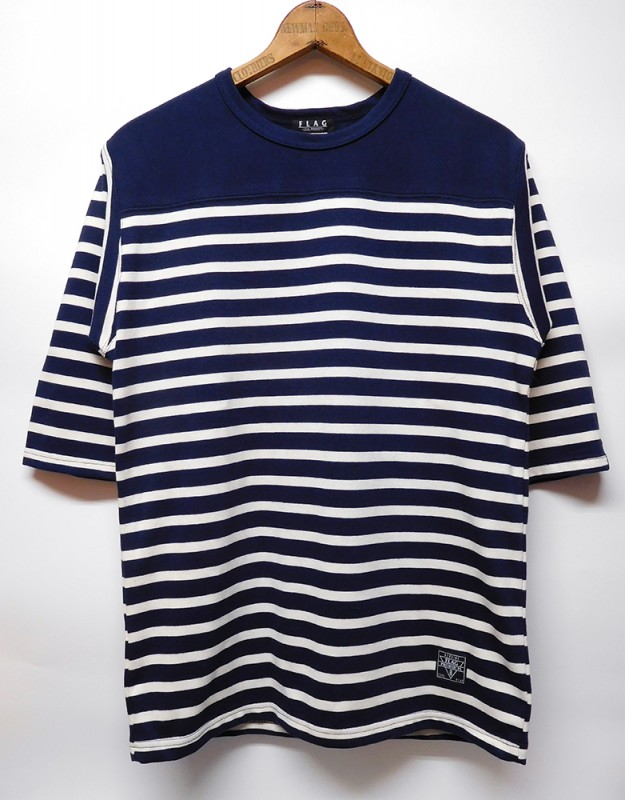 "FLAG STORE ""10oz STRIPE FOOTBALL TEE"""