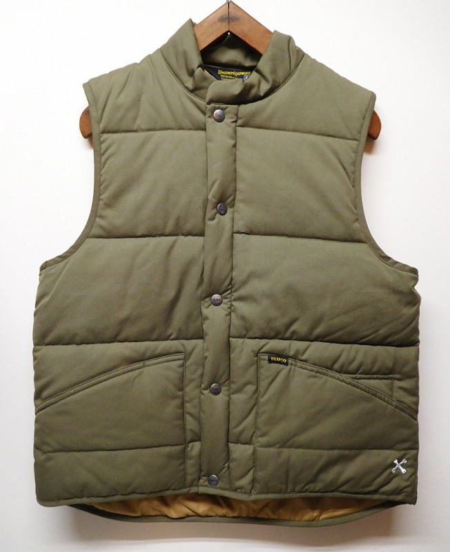 "BLUCO ""QUILTING WORK VEST"""
