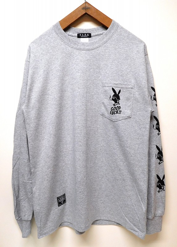 "FLAG STORE ""OUTLAW RABBIT L/S TEE"""