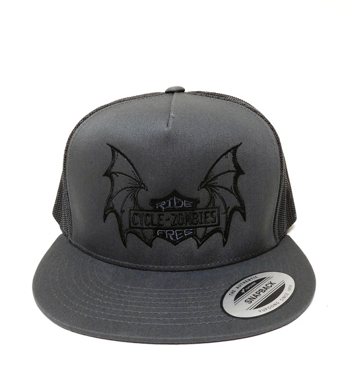 "CYCLE ZOMBIES ""RIDE FREE"" TRUCKER CAP"