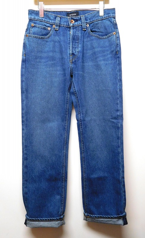 "BRIXTON ""LABOR WONE INDIGO DENIM PANTS"""
