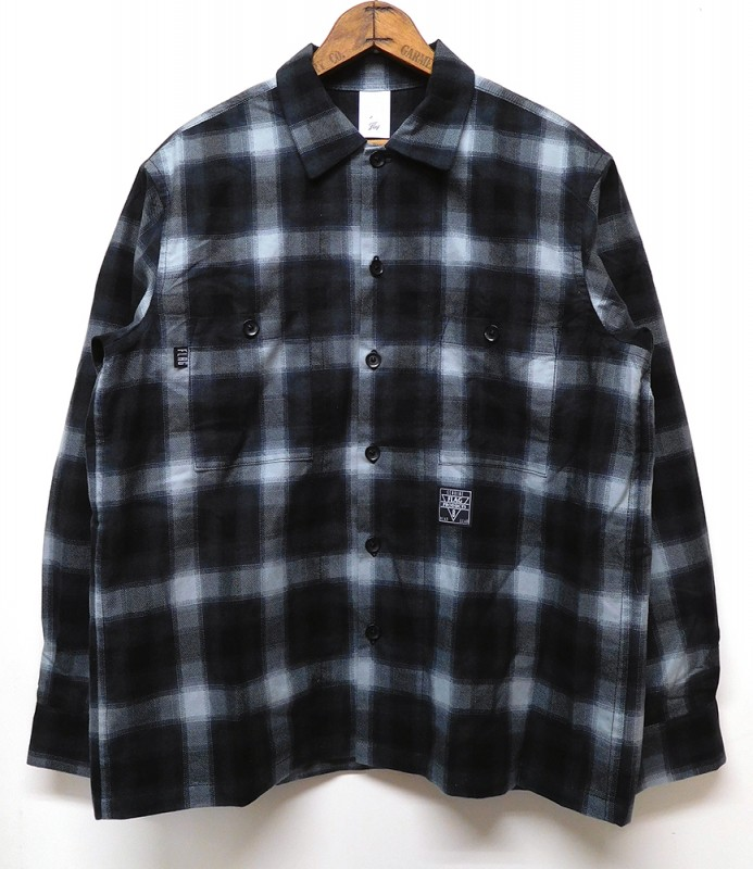 "FLAG STORE ""BOX OMBRE CHECK SHIRT"""