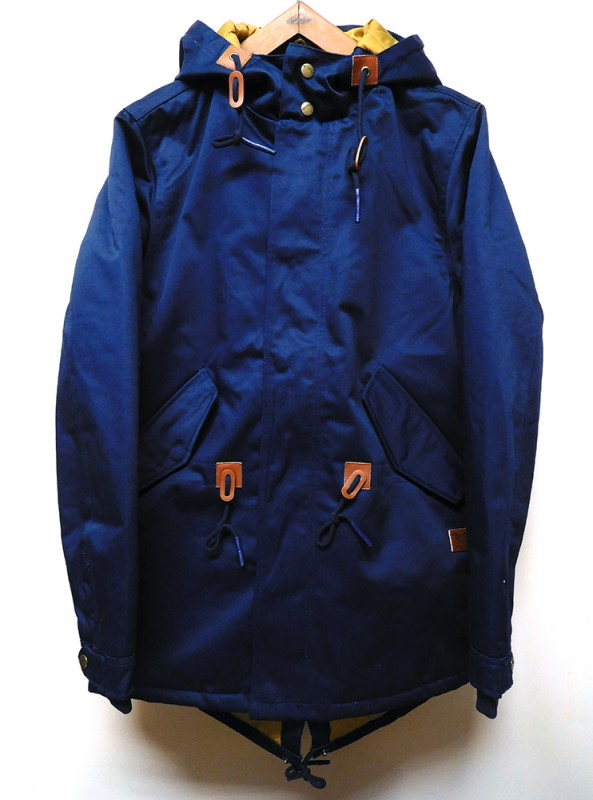 "BRIXTON ""MONTE FISH TAIL JACKET"""