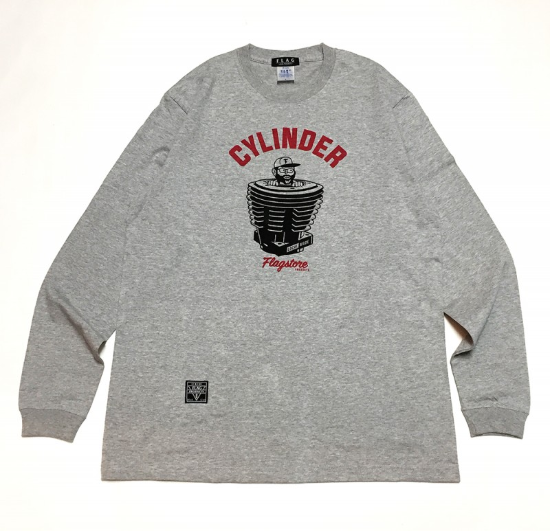 "FLAG STORE ""CYLINDER"" L/S TEE"