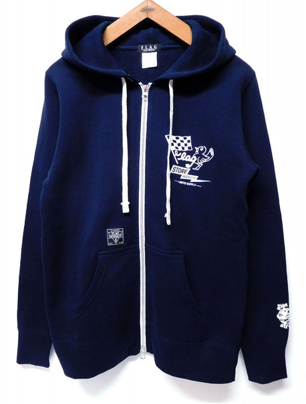 "FLAG STORE ""SHOWTY 2017FRIENDSHIP"" ZIP UP HOOD"