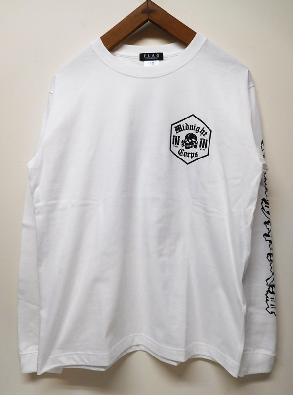 "FLAG STORE ""MIDNIGHT CORPS HEXAGON"" L/S TEE"