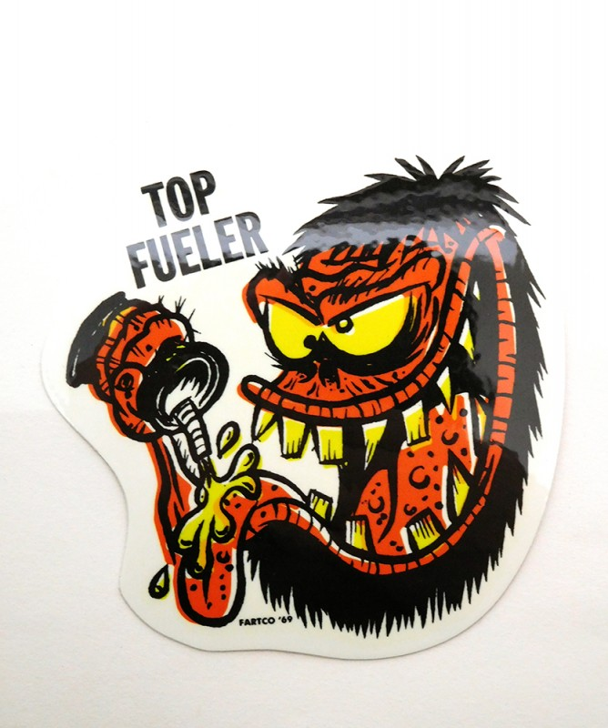 "IMPORT BRAND ""FARTCO FUELER STICKER"""